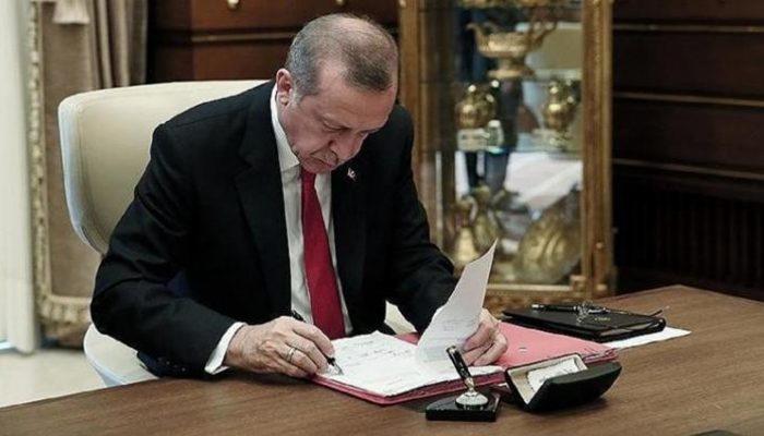 Cumhurbaşkanı Erdoğan'dan atama ve görevden alma kararları