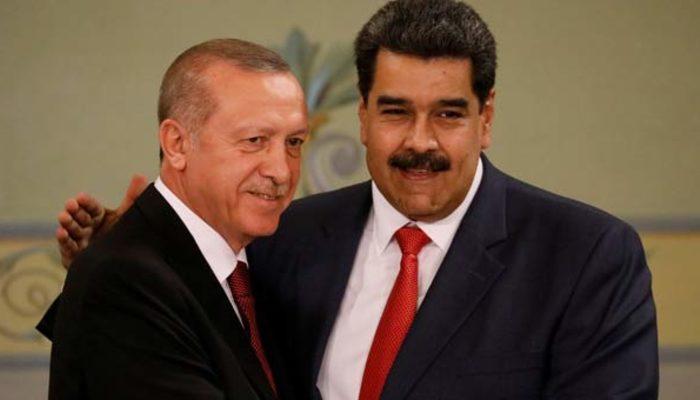Cumhurbaşkanı Erdoğan'dan Maduro'ya destek: Kardeşim, dik dur yanındayız