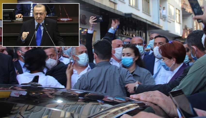 Cumhurbaşkanı Erdoğan'dan Meral Akşener'e: Daha neler olacak neler...