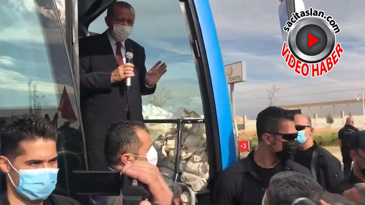 Cumhurbaşkanı Erdoğan esnafın sözlerini abartılı buldu