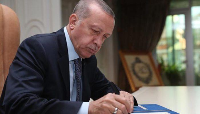 Cumhurbaşkanı Erdoğan imzaladı! Resmen kuruldu!