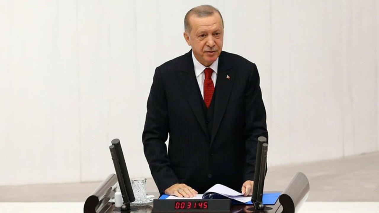 Cumhurbaşkanı Erdoğan, Meclis'in yeni yasama dönemi açılışında konuştu