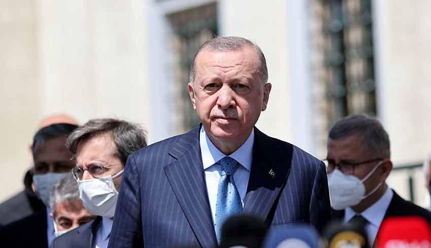 Cumhurbaşkanı Erdoğan: Türkiye'de ortak üretime gireceğiz