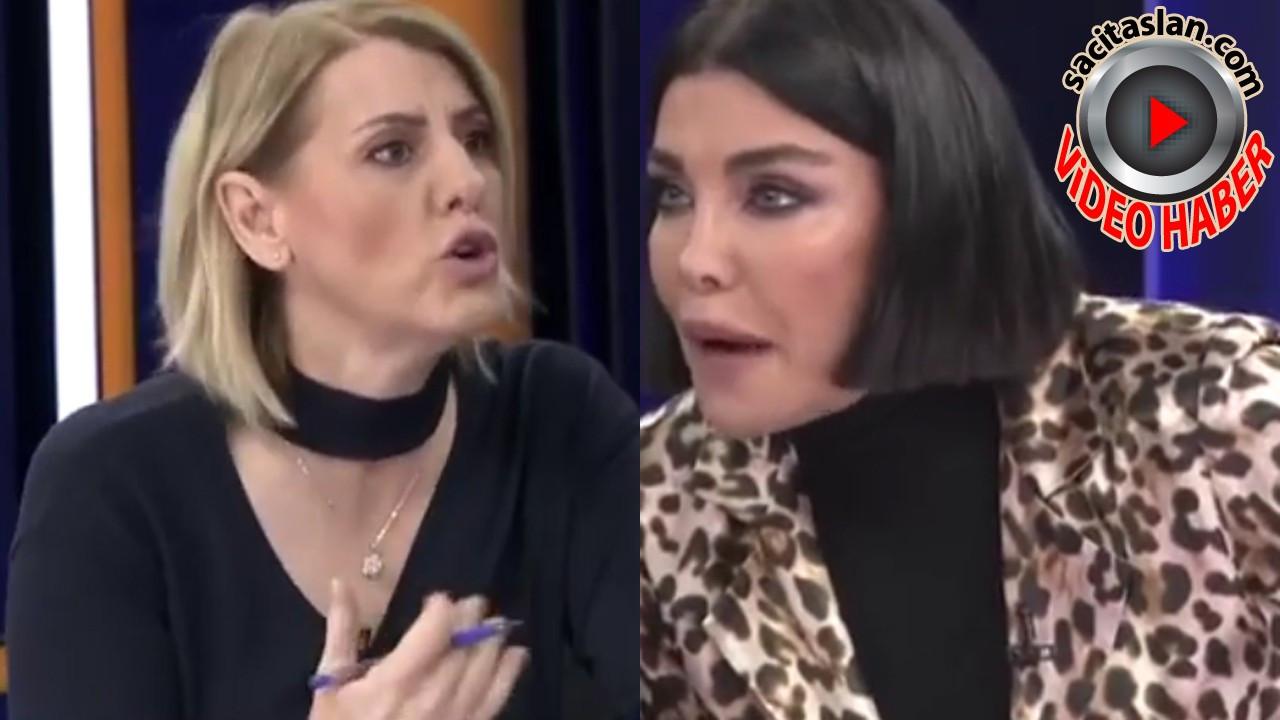 Deniz Akkaya ve Sevda Türküsev canlı yayında kavga etti!