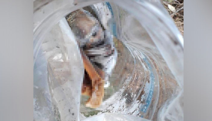 Denizli'de bidon içinde bebek cesedi bulundu