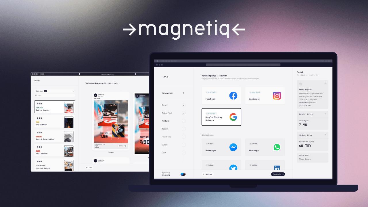Dijital reklam yönetim platformu Magnetiq, QNBEYONDVentures'tan 375 bin dolar yatırım aldı