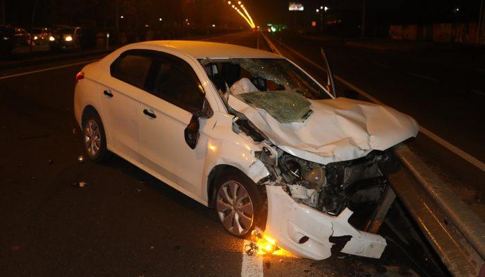 Diyarbakır'da akıl almaz kaza!