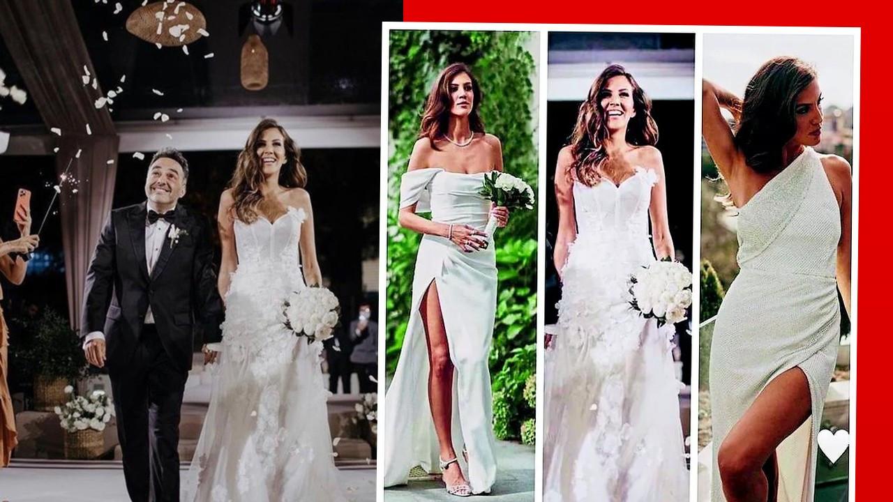 Düğününde üç gelinlik giyen Melodi Elbirliler'den nikah sonrası ilk hamle