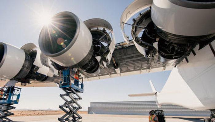 Dünyanın en büyük uçağı havalanıyor