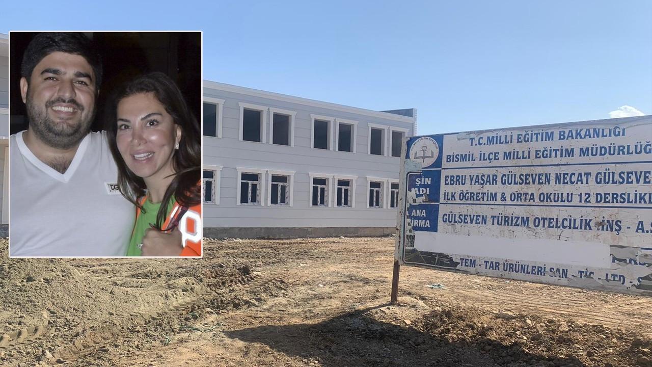 Ebru Yaşar ve Necat Gülseven'in okulunun yapımı tamamlandı