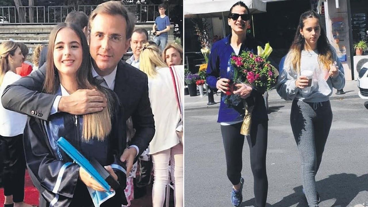 Edvina Sponza ve Hüsnü Özyeğin'in kızlarından mutlu haber