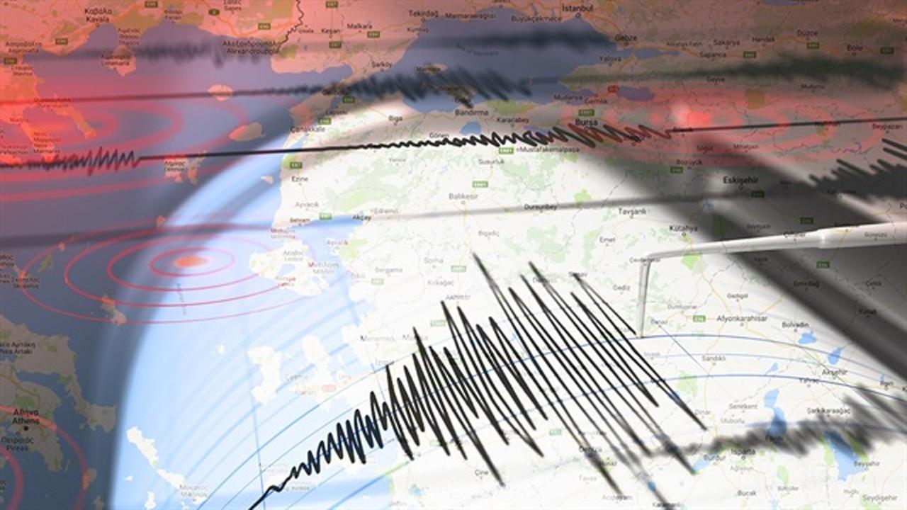 Ege Denizi'nde deprem!