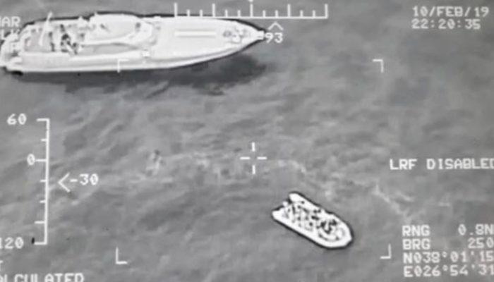 Ege Denizi'nde hareketli anlar! Yunanistan'a kaçmaya çalışan 118 kişi yakalandı