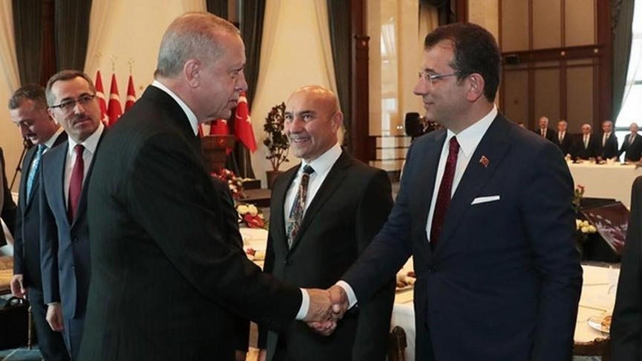 Ekrem İmamoğlu ile Recep Tayyip Erdoğan arasında sürpriz görüşme