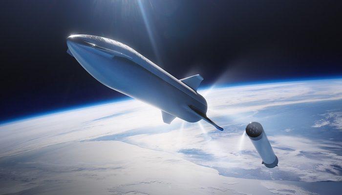 Elon Musk yayınladı! İşte yeni uzay aracının ilk görüntüleri