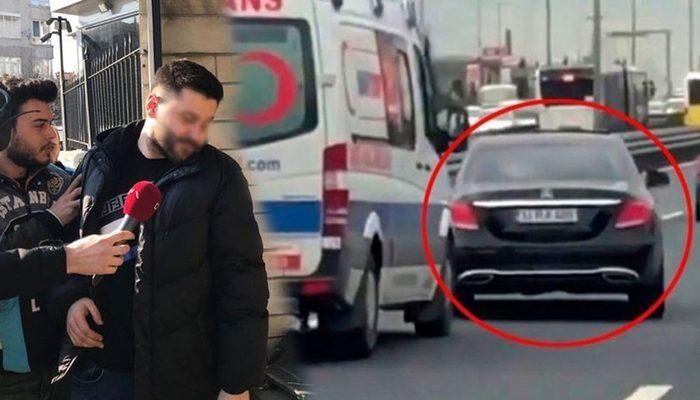 Emniyet'ten ambulansa yol vermeyen magandayla ilgili açıklama