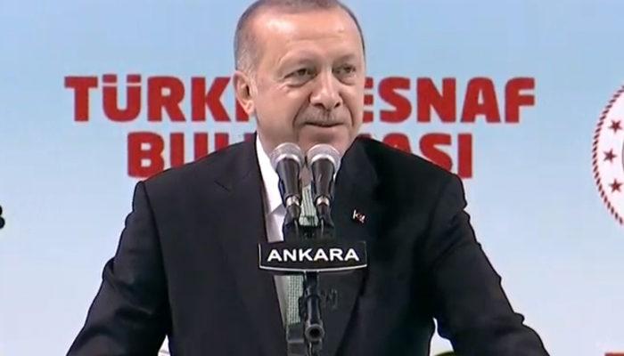Erdoğan, salondaki o sözleri duyunca böyle yanıt verdi: Kusura bakma, senin haberin yok
