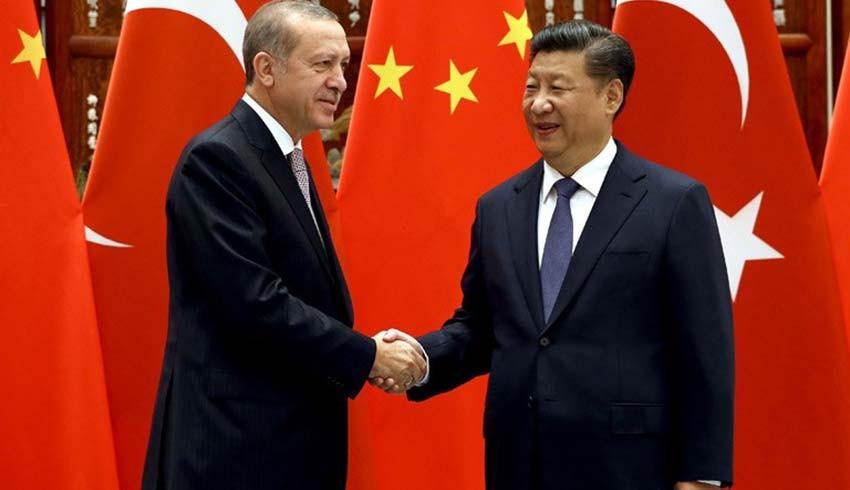 Erdoğan, Xi Jinping ile görüştü! Çin tarafından dikkat çeken açıklama