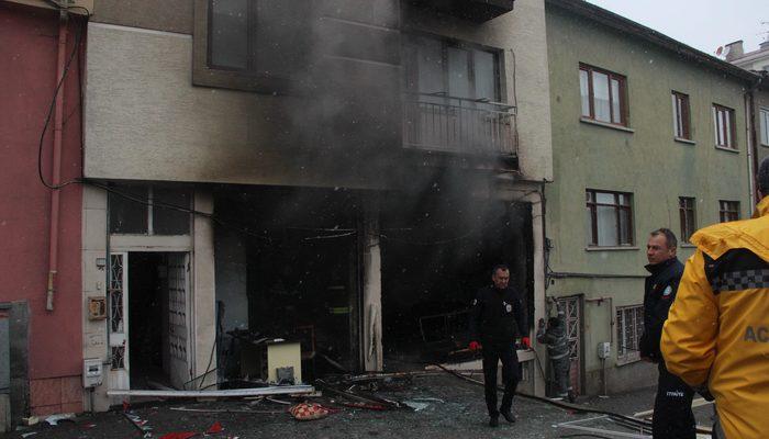Eskişehir'de patlama: 1 ölü