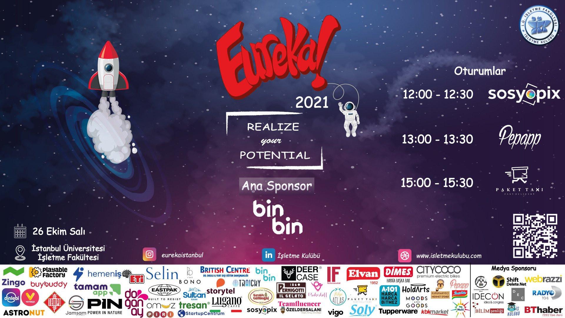Eureka'21 etkinliği