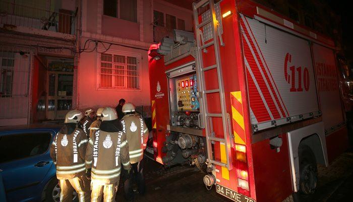 Fatih 'te binada yangın: 1 ölü