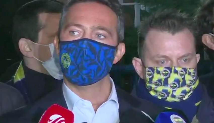 Fenerbahçe BaşkanıAli Koç: Ali Koç diye bir hakem varmış...
