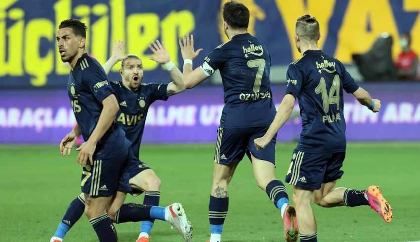 Fenerbahçe'den son dakikada mucize gol!