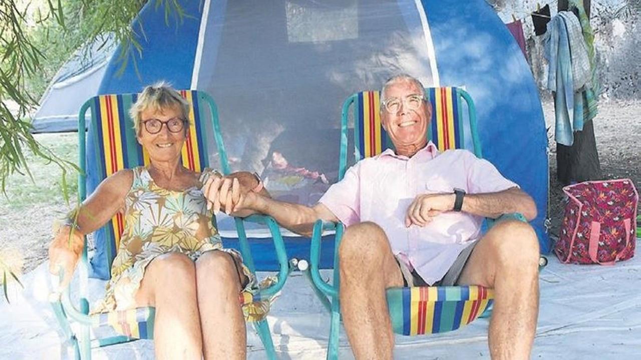 Fransız çiftinin duygulandıran Antalya sevgisi