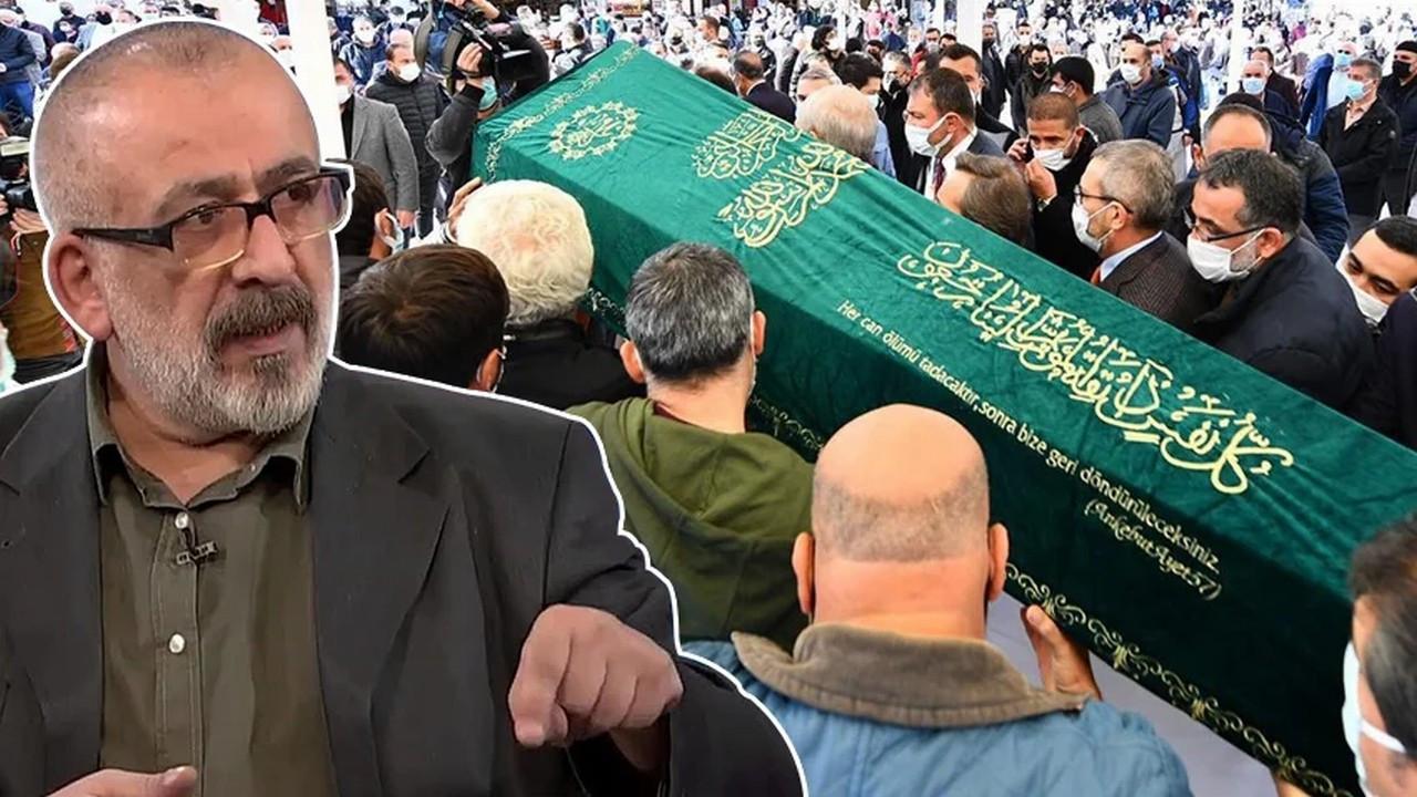 Gazeteci Ahmet Kekeç son yolculuğuna uğurlandı
