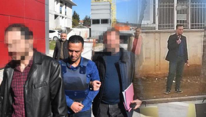 Gaziantep'te 3 kişiyi öldüren damat adliyeye böyle getirildi
