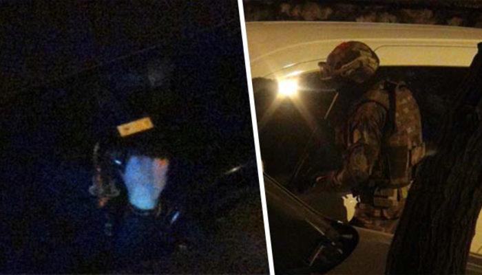 Gece yarısı korku dolu anlar! Polis ekipleri alarma geçti!