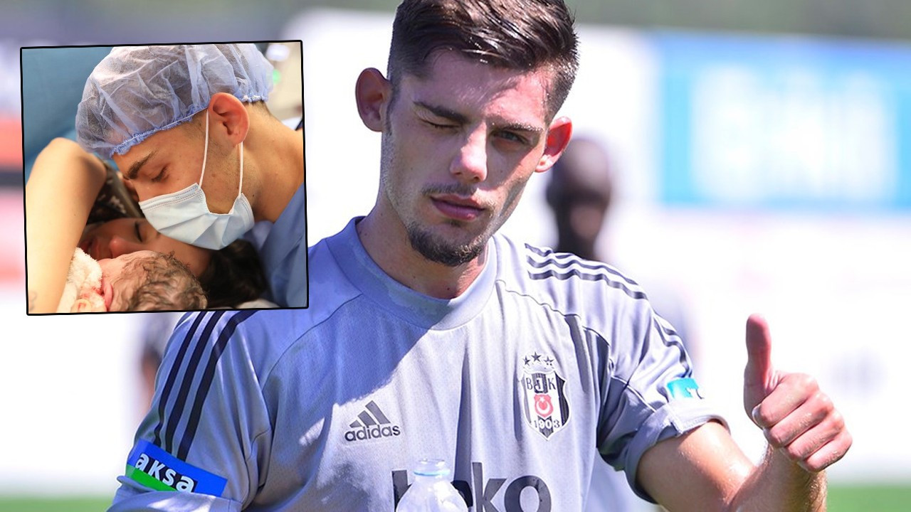 Genç futbolcu Montero baba oldu
