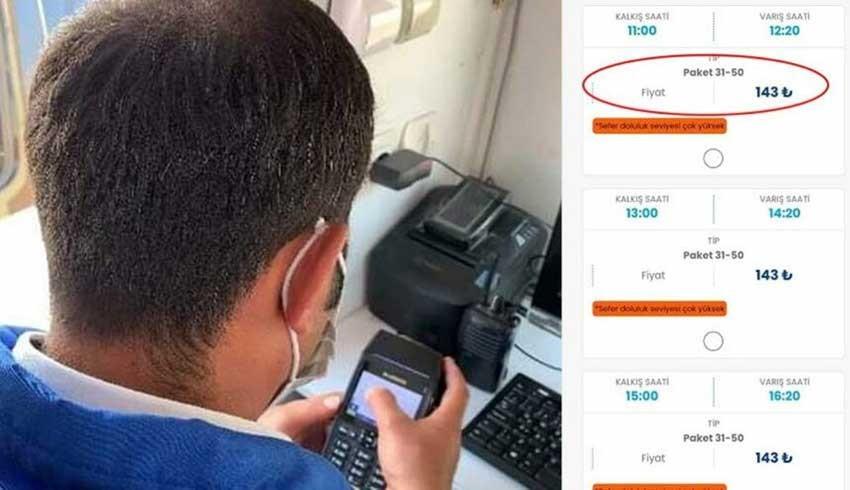 GESTAŞ gişede 80 TL olan bileti online ortamda 140 TL'ye satıyor