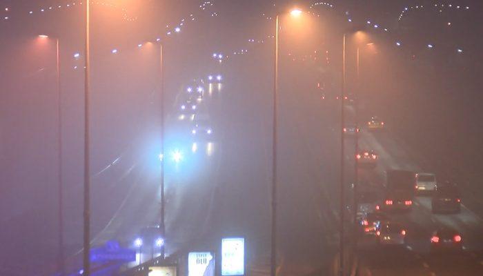 Göz gözü görmüyor! İstanbul sis altında