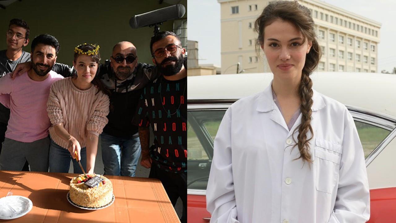 Gülper Özdemir'e sette doğum günü sürprizi
