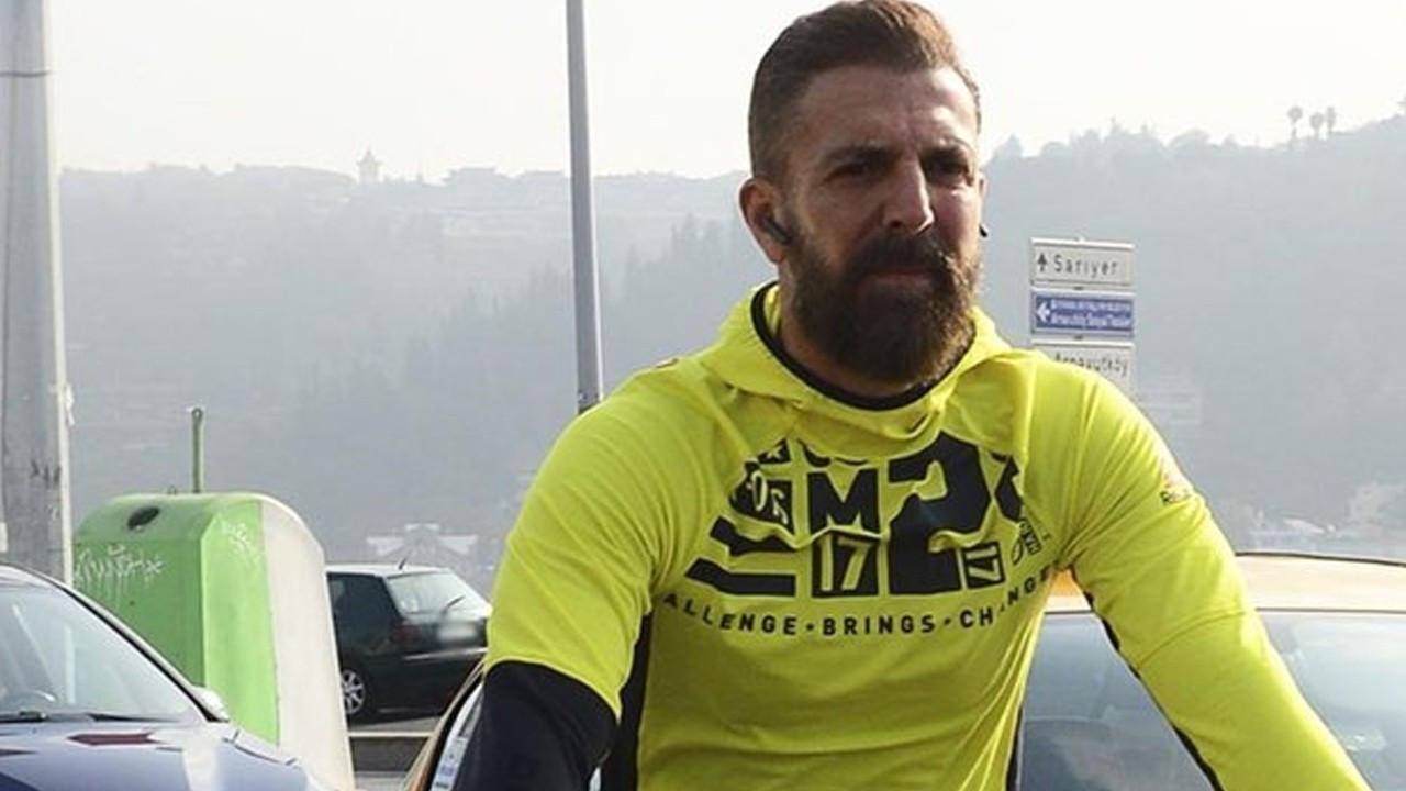 Harun Tan Ortaköy'den Tarabya'ya kadar bisiklet sürdü