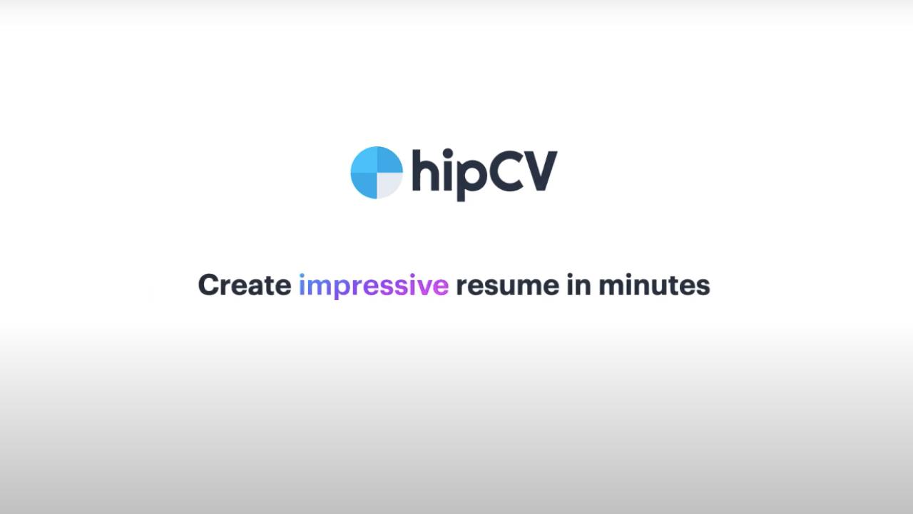 Hızlı ve kolay öz geçmiş oluşturma aracı: HipCV