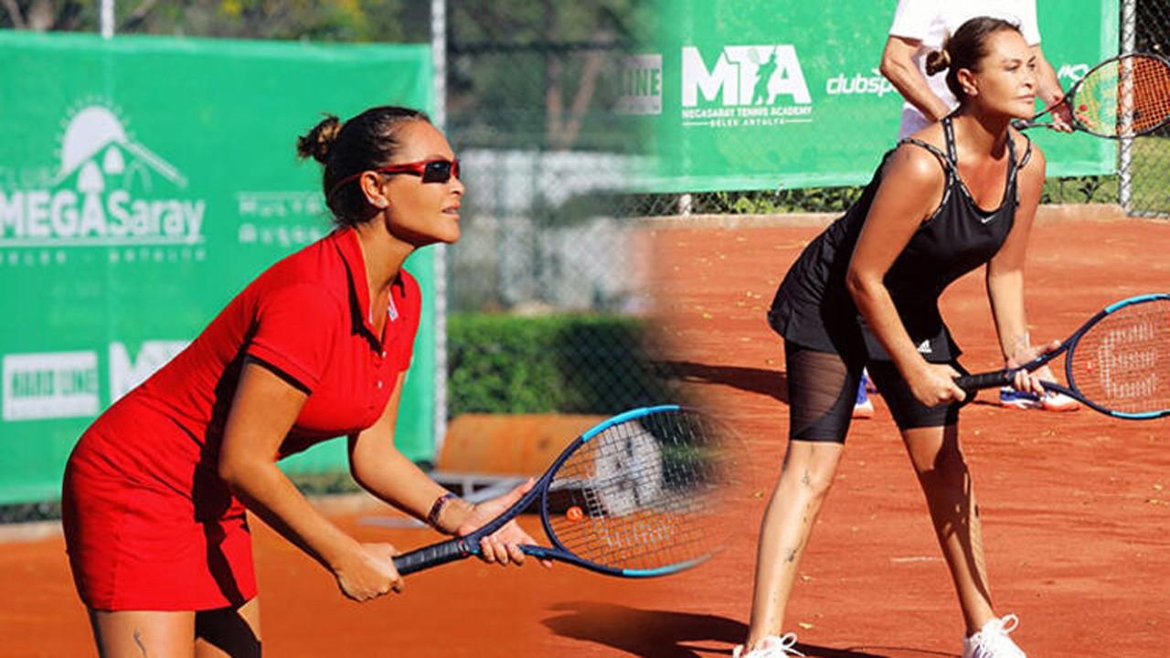 Hülya Avşar kendi turnuvasında şampiyon oldu