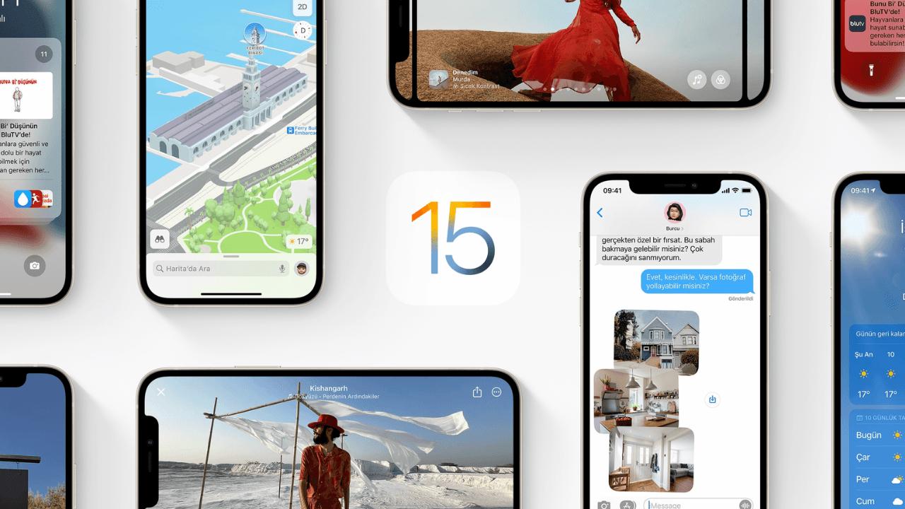 iOS 15 ile karşımıza çıkmayan özellikler