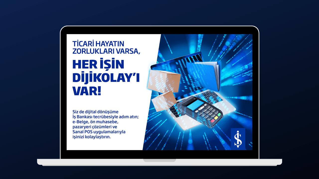 İş Bankası'ndan KOBİ'ler için dijitalleşme ihtiyacını karşılayan ürünleri tek çatıda toplayan çözüm: DijiKolay
