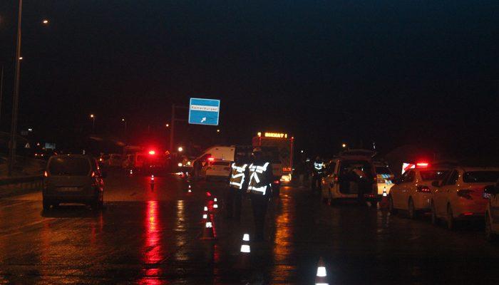 İstanbul'da feci kaza! Yolcu otobüsü devrildi: Ölü ve yaralılar var!
