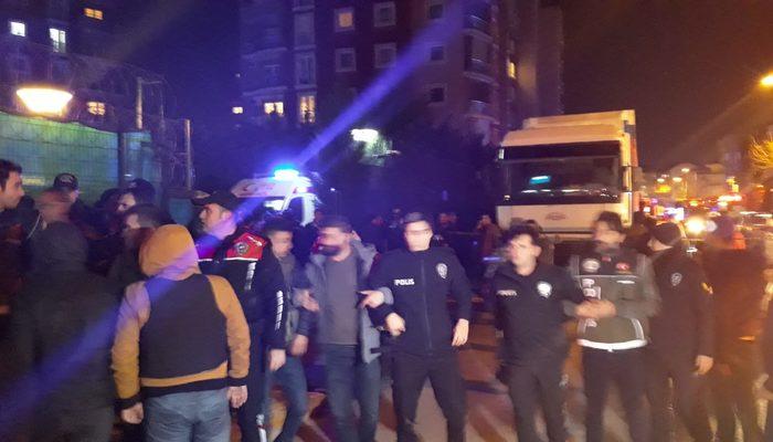 İstanbul'da helikopter düştü! İşte olay yerinden ilk görüntüler