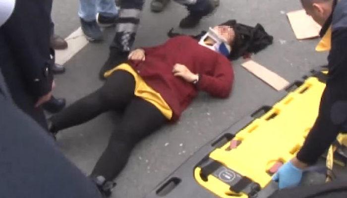 İstanbul'da korkunç olay! Genç kadın seyir halindeki araçtan yola atladı