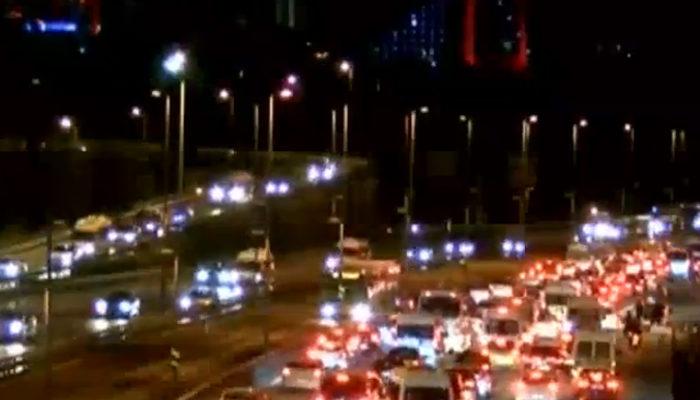 İstanbul'da 'okul' trafiği