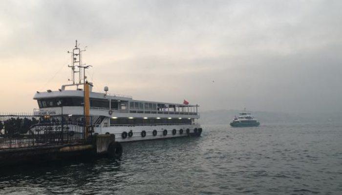 İstanbul'da ulaşıma sis engeli! Bazı vapur seferleri iptal