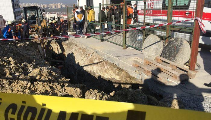 İstanbul Esenyurt'ta toprak kayması! Bir işçi hayatını kaybetti