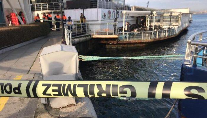İstanbul Kadıköy'de dehşet anları! Belediye işçileri denizde ceset görünce...