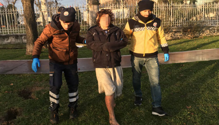 İstanbul Şişli'de parkta tecavüz dehşeti! Kıyafetlerini ateşe verdiler