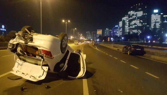 İstanbul TEM otoyolunda korkunç kaza: Yaralılar var