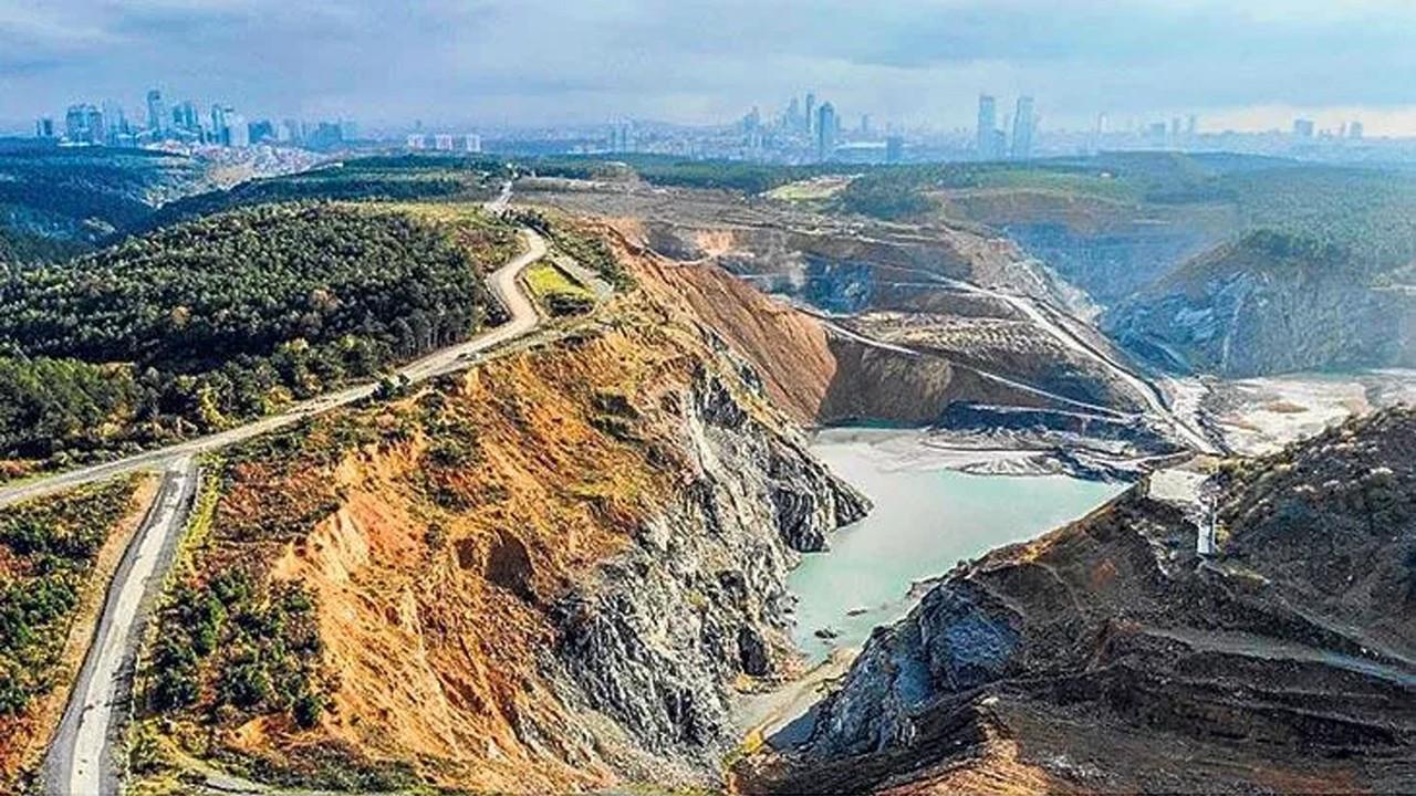 İstanbul'un soluk borusu betonla tıkandı